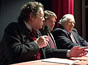Philippe Daverio, Francesco Oppi, Franco Manzoni