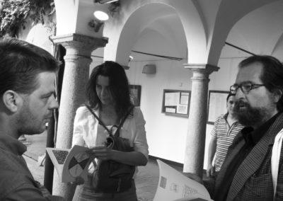 F. Oppi, Ida Chicca Terracciano e Andrea B. Del Guercio