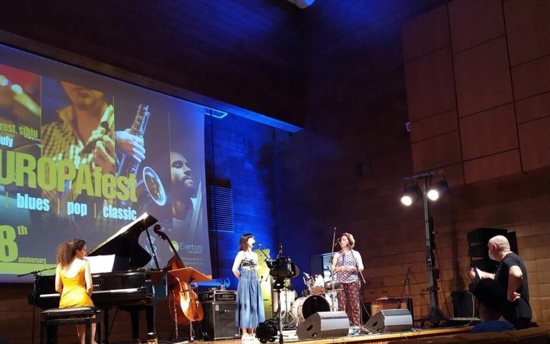 Eugenia Canale a Inveruno e al Guado per presentare l'ultimo disco jazz del Thetis trio